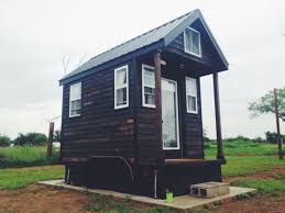 Small Picture Man Legally Living in 84 Sq Ft Tiny Home in Spur Texas