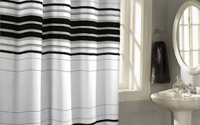 black striped and rod long sizes extraordinary stall curtains heig vinyl extra target curtain white blue