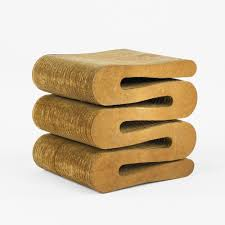 Corrugated Cardboard Furniture Frank Gehry Grandpa Beaver Chair Made Of Corrugated Cardboard