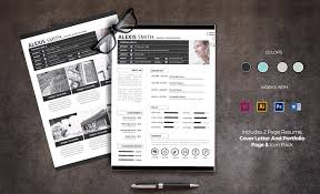 2 Page Cv Template 65 Resume Templates For Microsoft Word Best Of 2019