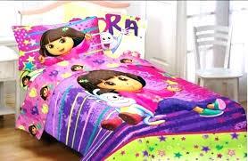 dora bed the explorer bedding set bed set the explorer bed sheets toddler bunk beds interior dora bed com the explorer