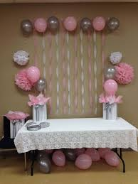wall decorations for girl baby shower