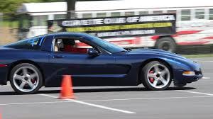 Corvette Autocross | 2000 Chevy Corvette Blue #47 | Corvette Club ...