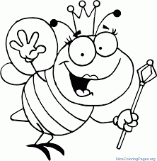 Small Picture bee coloring pages to print Nice Coloring Pages for Kids