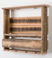 Reclaimed Wood Wine Cabinet Bravo Reclaimed Barn Wood Wine Rack Features Reclaimed Wood
