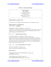 Ideas Of Personal Injury Attorney Resume Samples