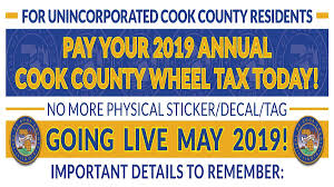 Illinois State Refund Cycle Chart 2018 Wheel Tax Vehicle License Cookcountyil Gov
