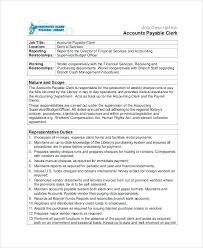 Purchasing Supervisor Job Description Accounts Payable Job