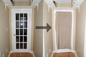 front door window coverDoor Covering  Curtain Call 12 Nifty Window Dressings For The