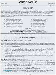 Community Outreach Resume Sample Terrific Social Worker Resume