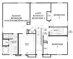 kb model 2245 up stairs floor plan