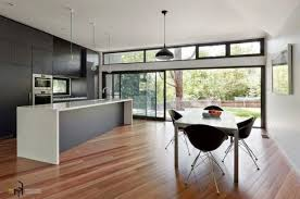 Kitchen A Stunning Minimalist Design Light Wooden Flooring Simply Stunning Kitchen Remodel Financing Minimalist