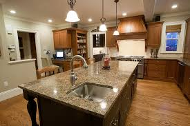 Granite Top Kitchen Island Kitchen Islands With Granite Top Better Bhg Deluxe Kitchen