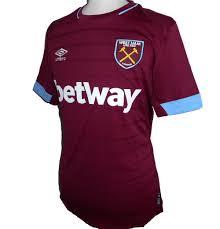 Questa pagina contiene le divise per dream league soccer della squadra del west ham. West Ham United Umbro Home Football Shirt 2018 2019 Football Fan Uk