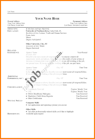 14 Types Of Resume Format Sample Xavierax