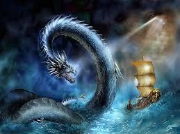leviathan dragon wallpaper. Delighful Wallpaper Twins Images Sea Serpent HD Wallpaper And Background Photos 29551675 Throughout Leviathan Dragon Wallpaper E