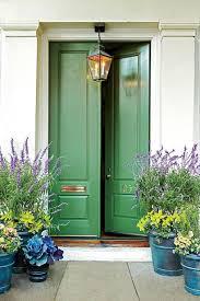 blue door house. Sage Green Front Door Color Blue House H