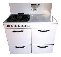 Magic Chef Kitchen Appliances 1940s White Porcelain Magic Chef Stove Chairish
