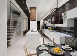modern house inside. Modern House Interior In White And Black Theme \u2013 Trinity Bellwoods . Inside O