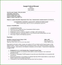 Federal Resume Template Microsoft Word 49 Options For Your