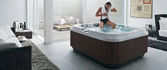 jacuzzi j315 portable spa indoors