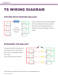 Bypass Ballast For Led Lights One Two Light Ballast Wiring Diagram Wiring Diagram