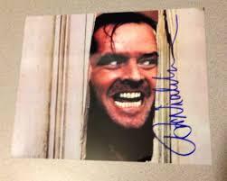 A Nicholson Jack Autograph Authentic Live Autograph This Is qwPSF5q