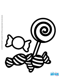candy coloring page. Contemporary Page On Candy Coloring Page D