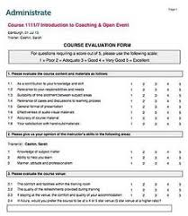 Sample Evaluation Form #sample #evaluation #form | Sample Evalution ...