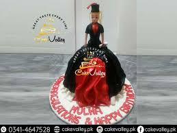 Graduation Doll Cake Online Cake Order And Delivery In Lahore
