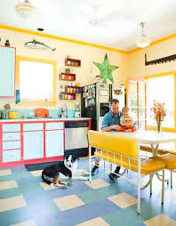 Image Kitchen Accessories Bright And Colorful Kitchen Love The White formica Table And The Pretty Yellow And White Chairs Home Decor Kitchen Design Kitchen Colors Pinterest Bright And Colorful Kitchen Love The White formica Table And