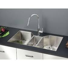 ruvati rvh8500 gravena stainless steel undermount triple bowl kitchen sinks efaucets com