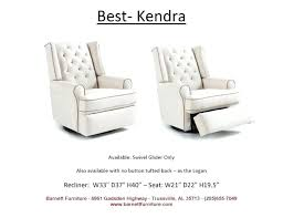 best swivel recliner chair charming for home decor leather glider rocker with ottoman