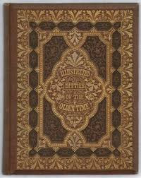 michaelmoonsbook ilrated ditties of the olden time ornate gilt design and embossed cover with beveled edges old books