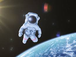 「1965–Cosmonaut Alexey Leonov, leaving his spacecraft Voskhod 2 for 12 minutes, becomes the first person to walk in space.」の画像検索結果