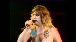 Crazy Train Light Show Ozzy Osbourne Crazy Train Speak Of The Devil