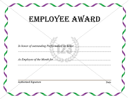 award certificates template employee award certificates templates free delli beriberi co