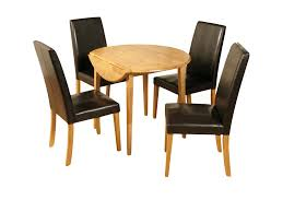 dining table parson chairs interior: oval dining table with black leather parsons chairs for traditional dining room design
