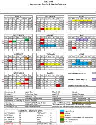 School Calendar Calendars Jamestown School District 19