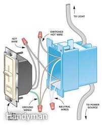 how to install dimmer switches the family handyman follow the manufacturer s instructions when installing the dimmer switch save