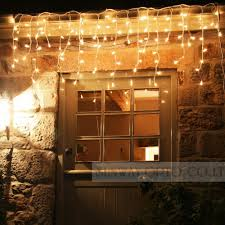Connectable Icicle Lights Outdoor Us 6 93 Connectable 5m Led Curtain Icicle String Lights Led Fairy Lights Christmas Lamps Icicle Lights Xmas Wedding Party Decoration In Led String