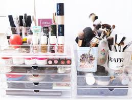 i m a terribly disorganised person and my make up collection has been living in a chaotic mess for a very long time one of the main problems i had with my