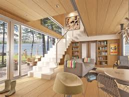 Decorations Cozy Interior Design For Modern Shipping Home Shipping - Container house interior