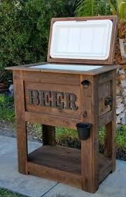 rustic beer cooler for in