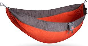 Open, gathered-end Hammock from Kammok