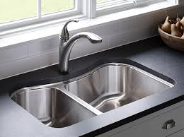 designer kitchen sinks. kohler: staccato™ kitchen sinks: kitchen: : new products contemporary- designer sinks i