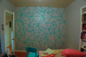 Painted Wall Designs Interior Paint Ideas Tape Modern Design Home Decor Painting Wall