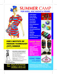 Fashion Designing And Garment Technology Fems Courses Fashion Designing Garment Technology
