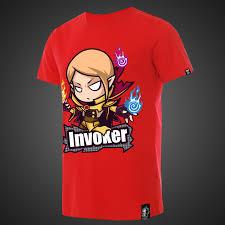 cartoon q version dota 2 invoker tshirts wishining