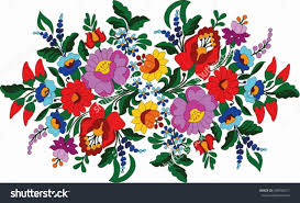Hungarian Folk Embroidery Designs Hungarian Folk Art Hungarian Embroidery Embroidery Folk